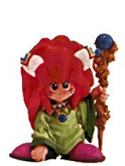 The official Super Famicom art of Popoie: a clay figure