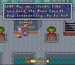 Randi meets Luke at the Water Palace