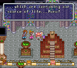 Popoie listens as Grandpa laments the state of Mana