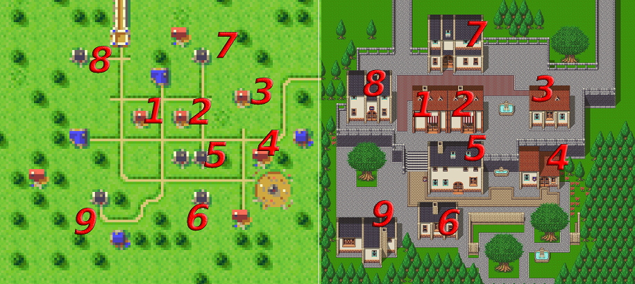 Two maps of Northtown