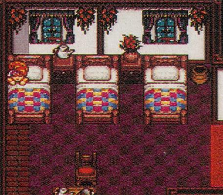 A prerelease inn in Secret of Mana