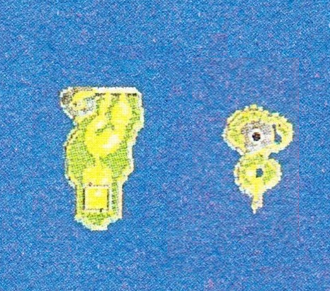 Two deleted islands from Secret of Mana