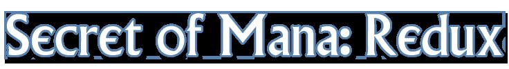 Secret of Mana Redux Logo