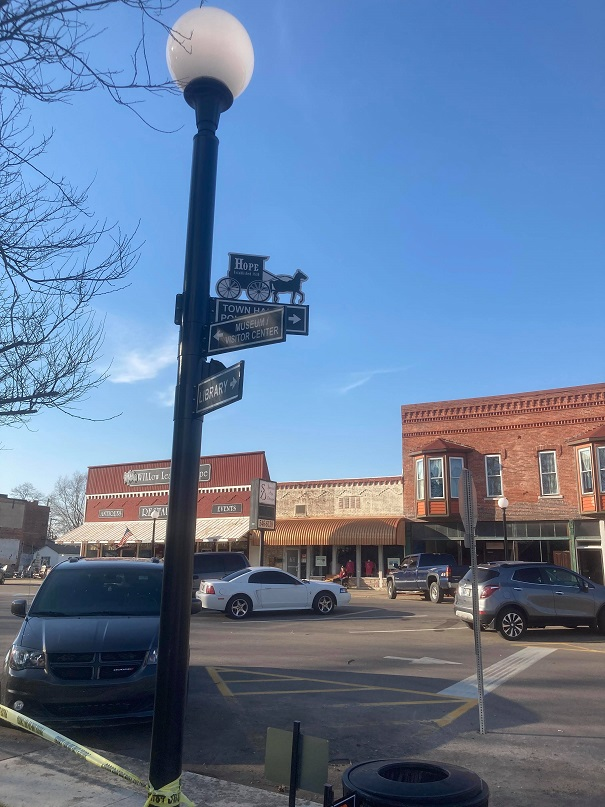 Street signs by Rhett Whittington