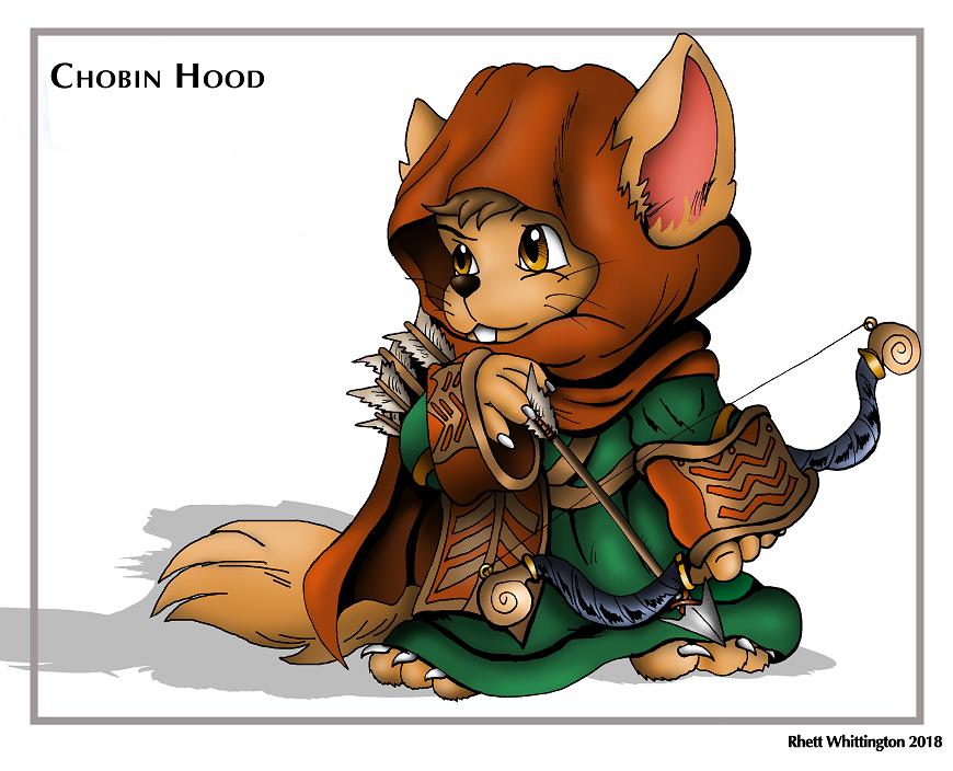 A Chobin Hood from Secret of Mana