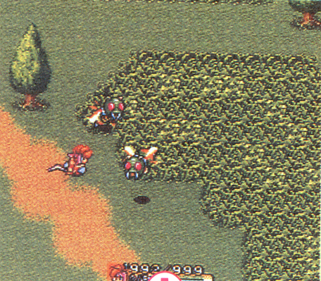 Early version of the path from Pandora to Kippo and Gaia's Navel
