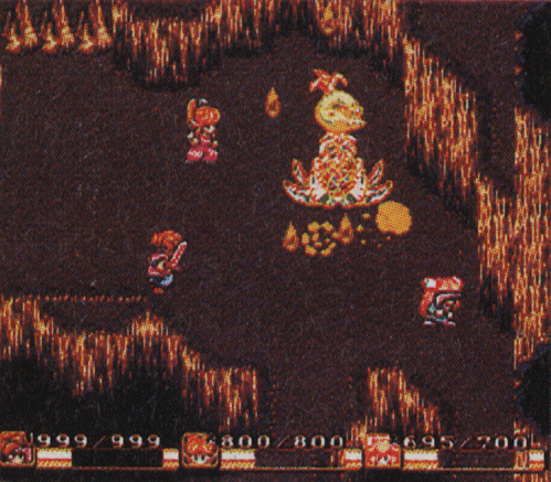 The Tropicallo battle during Secret of Mana's development