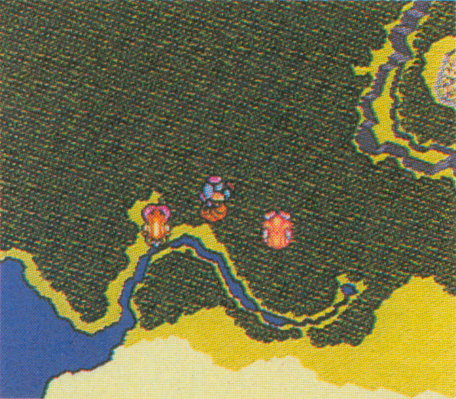 A deleted area from Secret of Mana