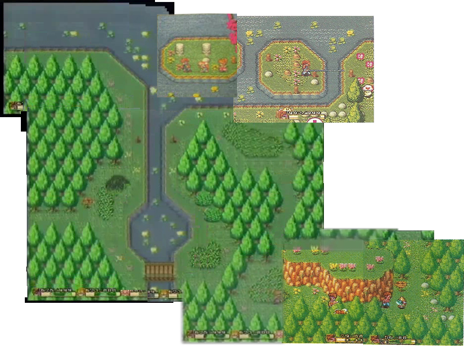 A reconstructed deleted area from Secret of Mana